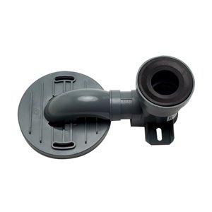 EAGO Replacement PVC Toilet Trap for TB356