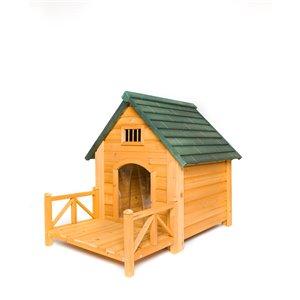 Creative Cedar Design K-9 Kastle Doghouse - Medium