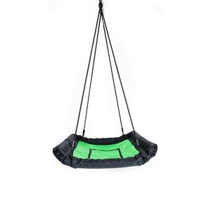 Creative Cedar Designs Platform Swing - Green