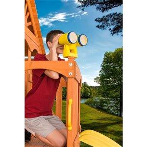 Creative Cedar Designs Binoculars - Yellow