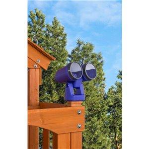 Creative Cedar Designs Binoculars - Purple