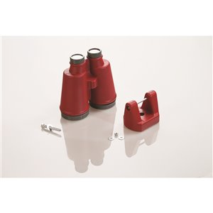 Creative Cedar Designs Binoculars - Red
