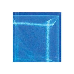 Mono Serra Glass Mosaic Tiles - 4'' x 4'' - Blue