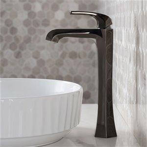 Kraus Esta Bathroom Sink Faucet - 1-Handle - 12-in - Gunmetal