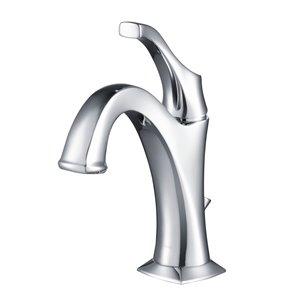 Kraus Arlo Bathroom Sink Faucet - 1-Handle - 8-in - Chrome