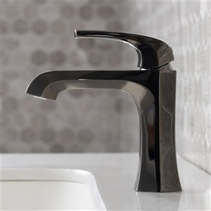 Kraus Esta Bathroom Sink Faucet - 1-Handle - 6.88-in - Gunmetal