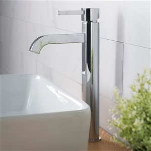 Kraus Premier Bathroom Sink Faucet - 1-Handle - 12.5-in - Chrome