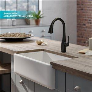 Kraus Esina Pull-Down Kitchen Faucet - Dual Function - Single Handle - Matte Black