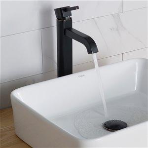 Kraus Premier Bathroom Sink Faucet - 1-Handle - 12.5-in - Oil Rubbed Bronze