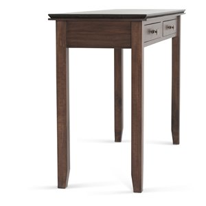 SIMPLI HOME Artisan Console Sofa Table 2-Drawers - Brown - 16.5-in x 45.9-in