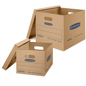 Fellowes Canada SmoothMove Classic Box Kit - 12 Pack