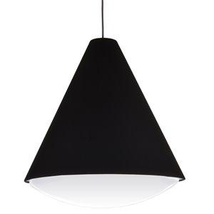 Dainolite Pendants Pendant Light - 1-Light - 17-in x 18.5-in - Black