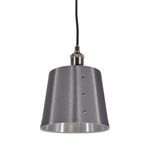 Dainolite Fayette Pendant Light - 1-Light - 8-in x 9.5-in - Silver