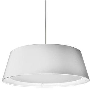 Dainolite LED Pendant Light - 1-Light - 24-in x 8-in - White