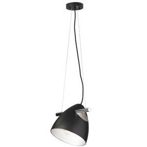 Dainolite  Pendant Light - 1-Light - 10-in x 10-in - Matte Black