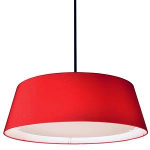 Dainolite LED Pendant Light - 1-Light - 24-in x 8-in - Red
