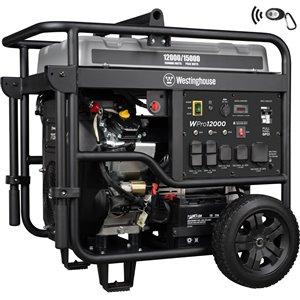 Westinghouse WPro12000 Pro Series Portable Generator - Gas
