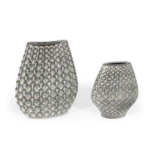 Gild Design House Palmer Ceramic Table Vase - 15-in
