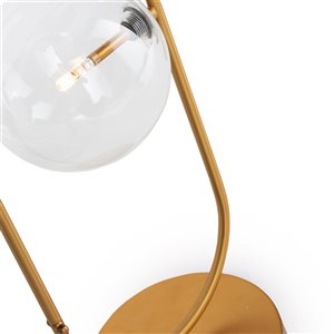 Gild Design House Lada Table Lamp - Gold - 24-in