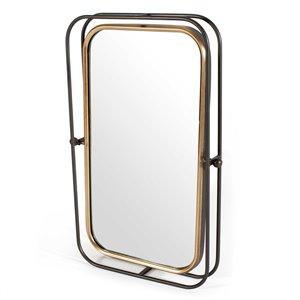 Gild Design House Bevin Mirror - Gray - 27.5-in x 18-in