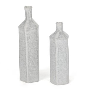 Gild Design House Cora Ceramic Table Vase - 15-in