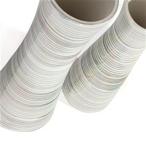 Gild Design House Falk Ceramic Table Vase - 19-in