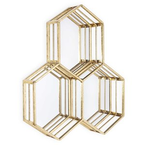 Gild Design House Tibaut Mirror - Gold - 21-in x 17-in