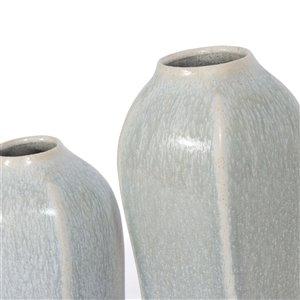 Gild Design house Orwin Ceramic  Decorative Table Vase -  17-in