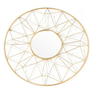 Gild Design House Hana Metal Mirror - 32-in x 32-in