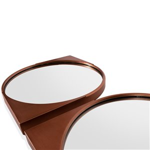 Gild Design House Elora Mirror - Copper - 18-in x 18-in - Set of 4