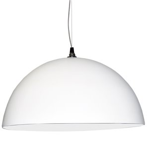 Dainolite Signature Pendant Light - 3-Light - 31-in x 16-in - White