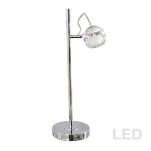 Dainolite Signature Desk Lamp - 19-in - Polished Chrome