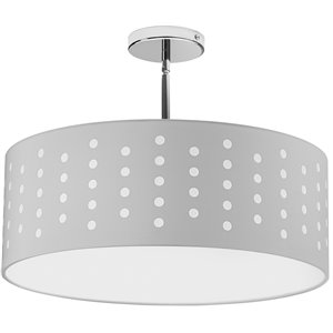 Dainolite Sabrina Pendant Light - 4-Light - 19-in x 7-in - White