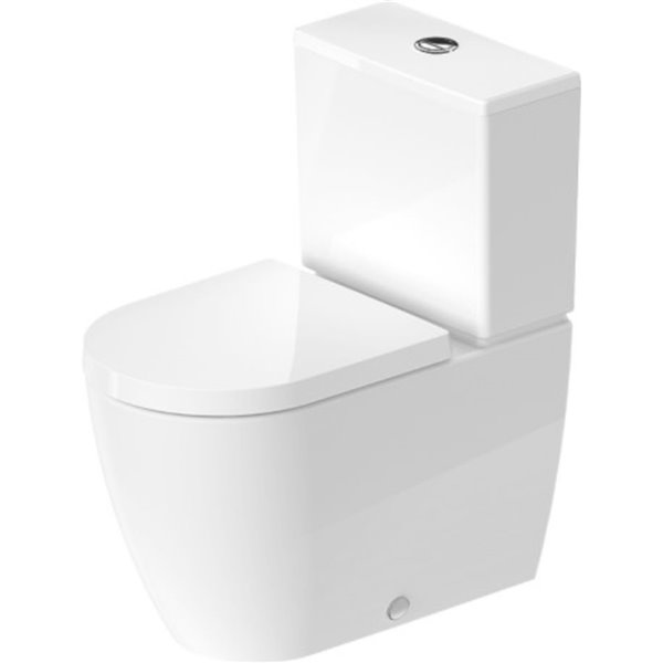 Duravit Me By Starck Toilet Bowl White 14 63 In X 25 63 In Lowe S Canada