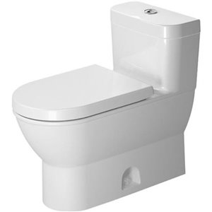 Duravit Darling New One-Piece Toilet - Seat Not Included - White