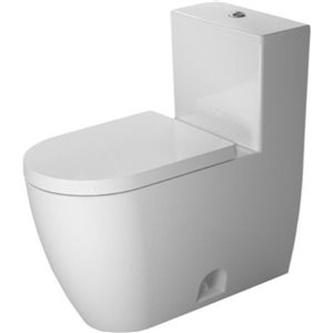 Duravit ME by Starck One-Piece Toilet - Seat Not Included - White