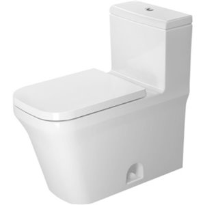 Duravit P3 Comforts One-Piece Toilet - seat not included - White