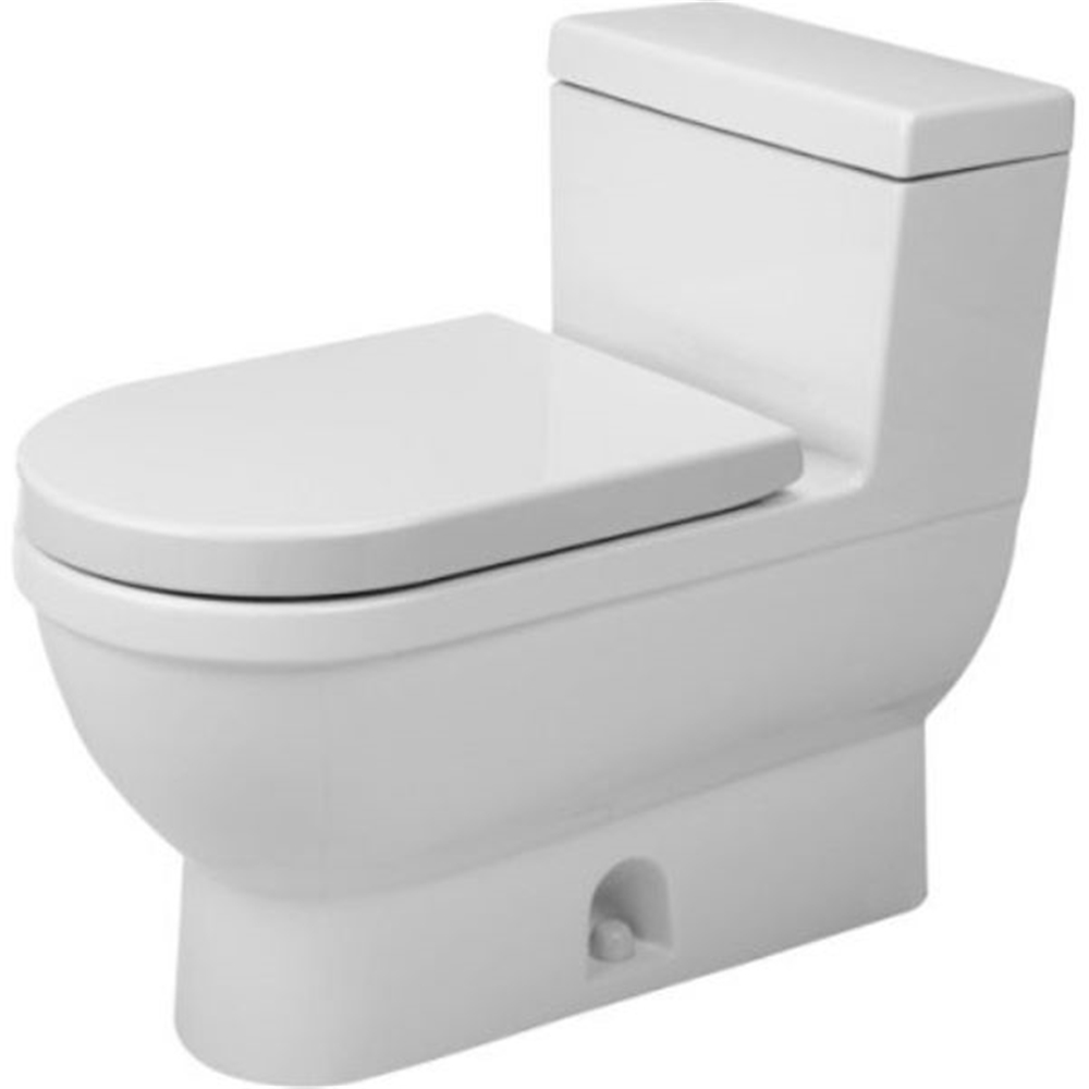 Duravit Starck 3 Wall Mounted Toilet White 14 63 In X 21 25 In Lowe S Canada