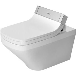 Duravit DuraStyle Wall-Mounted Toilet - White - 14.75-in x 24.38-in