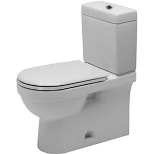 Duravit Happy D.2 Toilet Bowl - White - 14.38-in x 27.5-in