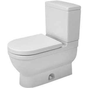 Duravit Starck 3 Toilet Bowl - White - 14.75-in x 27.5-in