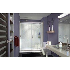 DreamLine Visions Shower Door Kit - 60-in - Nickel