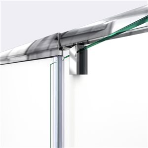 DreamLine Flex Shower Door/Q-Wall Backwall - 60-in - Chrome