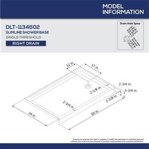 DreamLine Aqua Ultra Tub/Shower Kit - 60-in x 74-in - Chrome