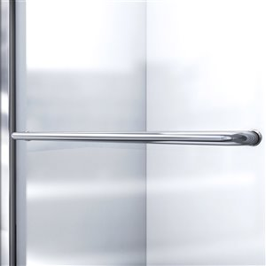 DreamLine Infinity-Z Sliding Shower Door Kit - 60-in- Nickel