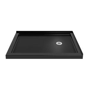 DreamLine Flex Shower Enclosure and Base Kit - 48-in- Chrome