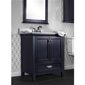 Foremost Brantley Vanity Combo - 30-in - Blue Harbor ...