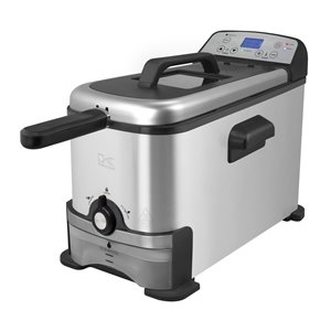 Kalorik 3.2 Qt Digital Deep Fryer with Oil Filtration