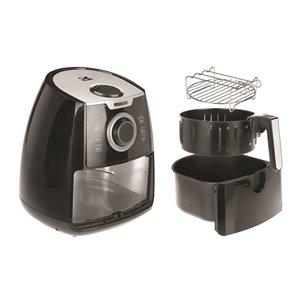 Kalorik 3.2 Qt. Air Fryer with Dual Layer Rack - Black