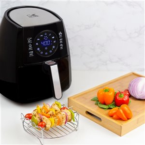 Kalorik 3.2 Qt. Digital Air Fryer  - Black